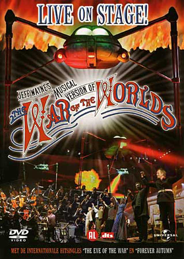 Rôzne The War Of The Worlds Live